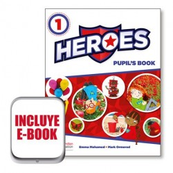 HEROES PUPIL´S BOOK 1
