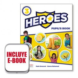 HEROES PUPIL´S BOOK 3